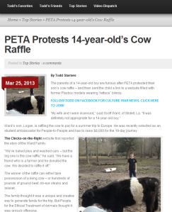 Cow Raffle