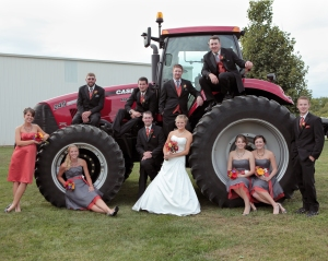 group on tractor