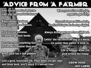 farmer advice