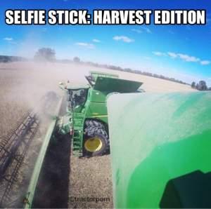 Selfie Stick Farming